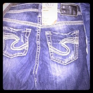 Silver Jeans Shorts - BNWT~~Silver Jeans ~SUKI FIT~